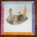 Cut and Paste Rhino: Kid's Craft