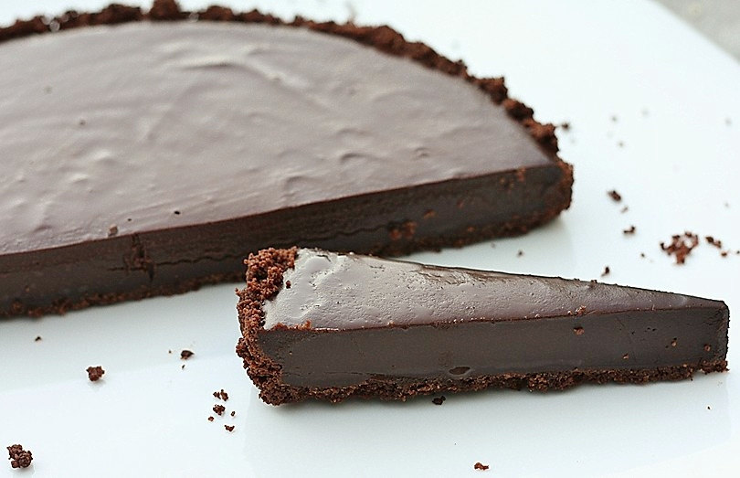 Chocolate Ganache Tart Recipe — Dishmaps