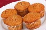 Healthy Sweet Potato Muffins, Vegan