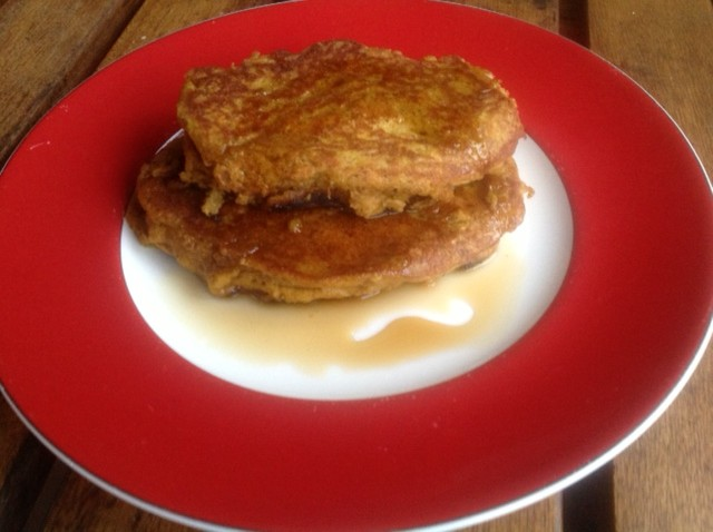 gluten-free and dairy-free pumpkin pancakes