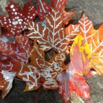 Painted Autumn Leaves and More Fun Fall Crafts