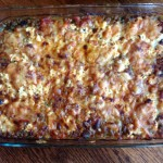 Tomato, Cauliflower, Potato Vegetarian Casserole