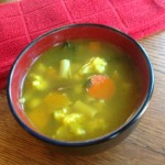 Hearty Vegetables, Garbanzo Beans, Pasta Soup