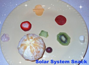 solar system snack