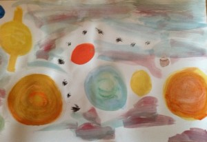 water color planets