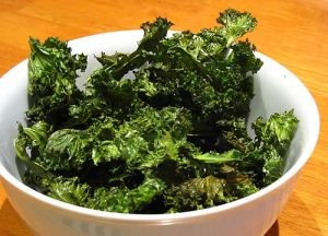 9 flavors of kale chips, gluten free and vegan