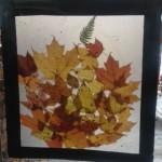 fall tree sun catcher craft