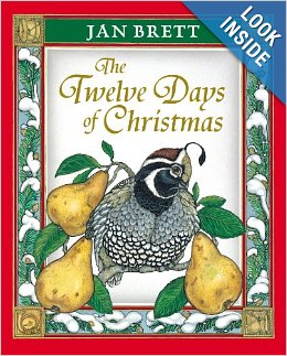 the twelve days of christams by jan brett