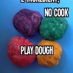 No Cook Play Dough