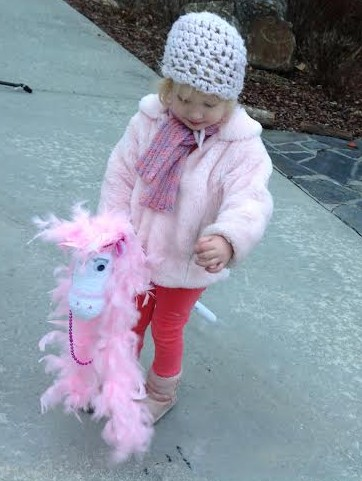 Glamorous Sock Horse  kids' craft homemade toy