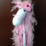 Glamorous Sock Horse craft for kids