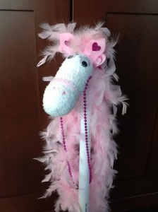 Glamorous Sock Horse craft for kids