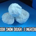Quick Snow Dough: 3 Ingredients