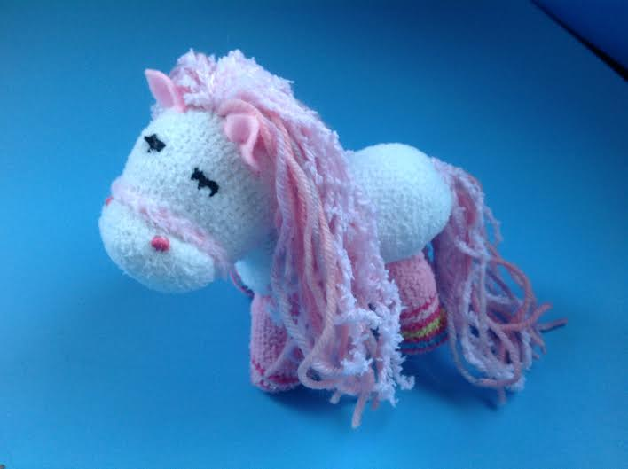Easy sock pony tutorial healthy mama info for What can you make out of horseshoes