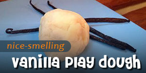 Nice-Smelling Vanilla Play Dough