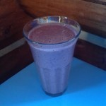 Raw Berry Smoothie With a Hint of Chocolate