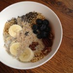 homemade quinoa gluten-free cereal, vegan