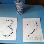 learn numbers and fine motor skills with toddlers
