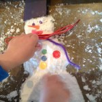 sensory snowman