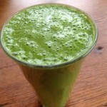 Healthy Shamrock Smoothie raw and vegan