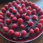 Raw Chocolate Cashew Cheesecake