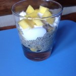 Mango Chia Coconut Breakfast Parfait