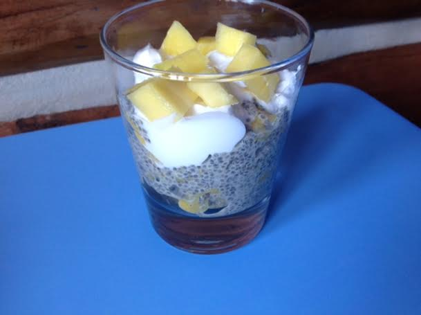 Mango Chia Coconut Breakfast Parfait | Healthy Mama Info
