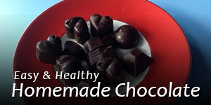 Easy & Healthy Homemade Chocolate