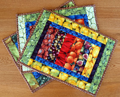 Free Quilting Patterns For Placemats And Runners Cafca Info For