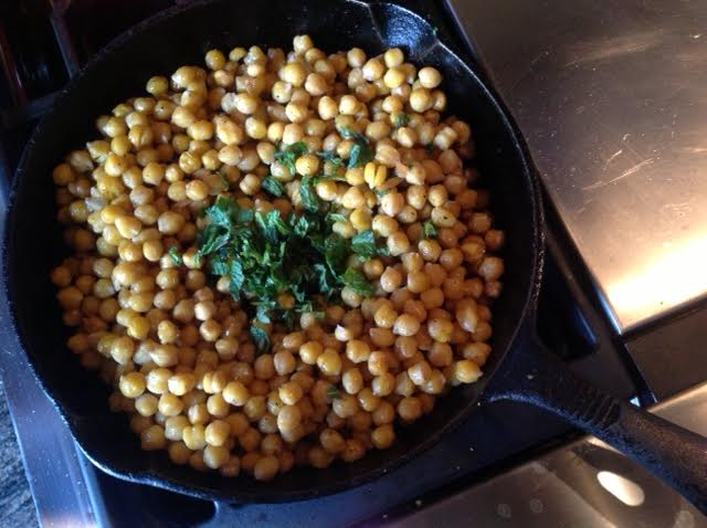 Lemon Mint Chickpeas