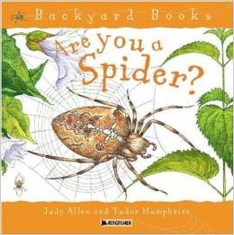 are you a spider book