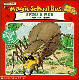 magic school bus about spiders