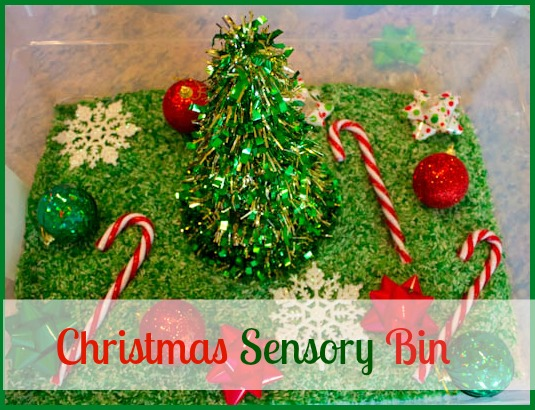 21 Christmas Sensory Bins Tubs And Projects Healthy