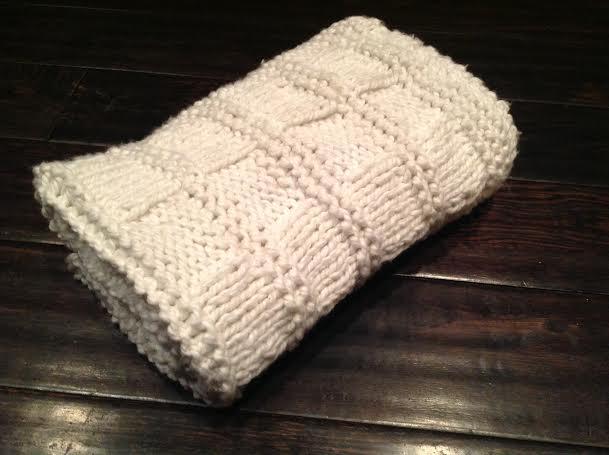 Chunky Baby Blanket Knitting Pattern Healthy Mama Info