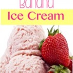 Healthy Strawberry Banana Ice Cream