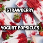 Strawberry Yogurt Popsicles | Healthy Mama Info