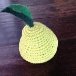 How To Crochet a Pear