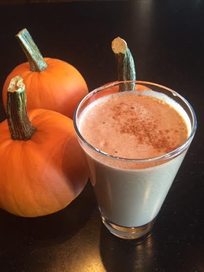 Healthy Pumpkin Cheesecake Smoothie