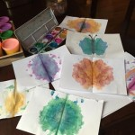 Learning Symmetry with Paint Stains