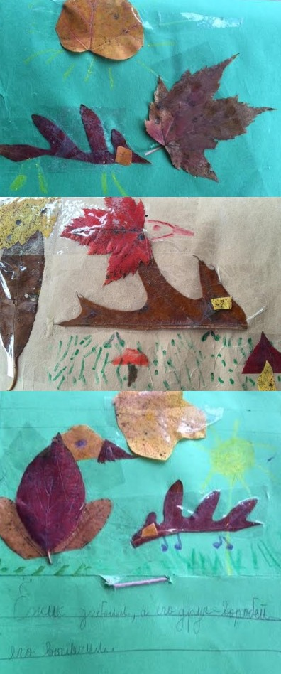 Fall Fairy Tale, made by kids