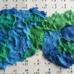 Play Dough Map of the World