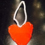 Sewn Felt Heart