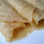 Oatmeal crepes