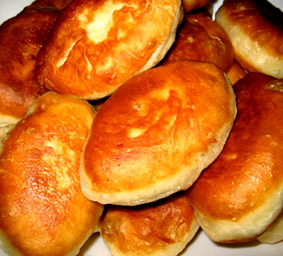 Sourdough Pirozhki