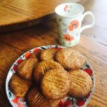 Chickpea Shortbread Cookies
