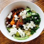 Quinoa, Sweet Potato and Feta Bowl