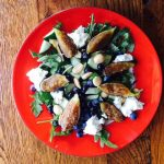 Figs and Blueberries Salad