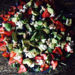 Strawberry, Avocado and Feta Salad