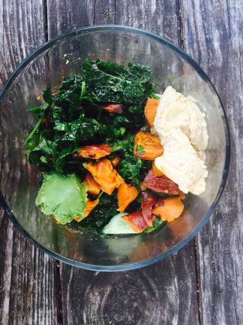 kale-roasted-sweet-potato-and-hummus-bowl