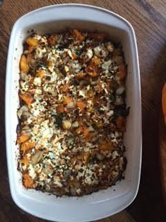 pumpkin-feta-casserole